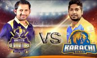 PSL 2017: Gladiators elect to field against Karachi Kings