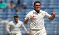O'Keefe takes six as Australia skittle India for 105