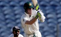 Smith ton helps Australia set India 441 for win