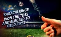 PSL 2017: Karachi Kings field against Lahore Qalandars