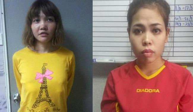 Malaysia to charge women with Kim murder