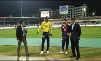 Peshawar Zalmi opt to field against Gladiators in first playoff
