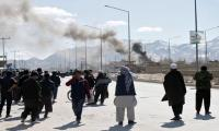 Explosion, gunfire reported in Afghan capital Kabul
