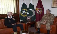 COAS, Naval Chief discuss operation Radd-ul-Fasaad