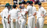 Lyon gets Kohli as India 168-5 at tea