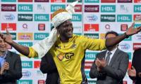 In pictures: Darren Sammy making the most of the PSL final