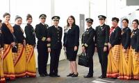 Indian airline claims record with all-female round-world flight