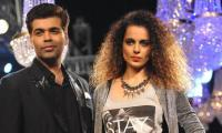 Leave Bollywood if it's so bad: Karan Johar to Kangana Ranaut
