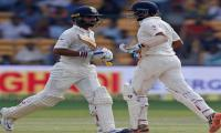 Pujara, Rahane keep India afloat in second test
