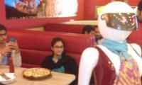 Dreaming big! A fast food restaurant run by robots in Multan
