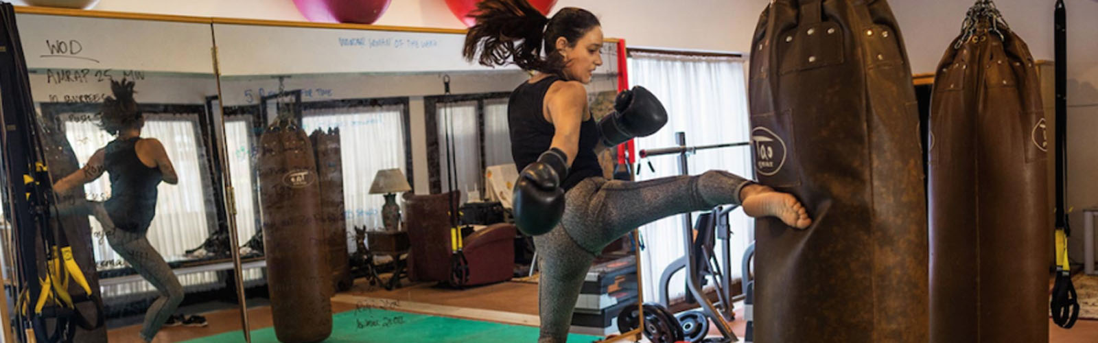Meet Halah Al-Hamrani, Saudia's only female kickboxing and boxing trainer