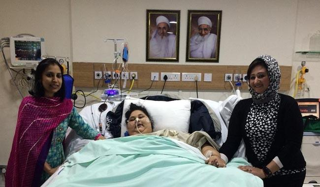 ´World´s heaviest woman´ has surgery in India, loses 100 kgs