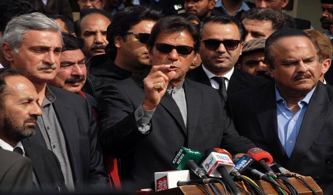 Imran Khan reacts to scuffle between PTI, PMLN lawmakers