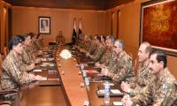 Corps Commanders discuss military courts, Dawn leaks, NAP