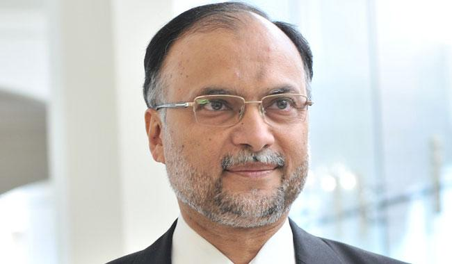 Strongly disapprove of Javed Latif's statement: Ahsan Iqbal