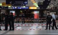 Axe attackers injure five at German station