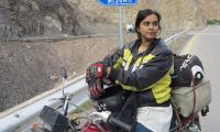 Meet Zenith Irfan, the girl who aspires to travel the world on a bike...