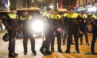 Dutch police use water cannon, horses on Turkish rally