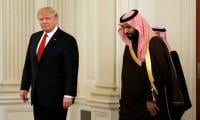 Trump meets top Saudi prince as Yemen war rages