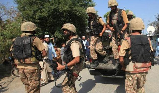 Army guns down 6 militants at Pak-Afghan border
