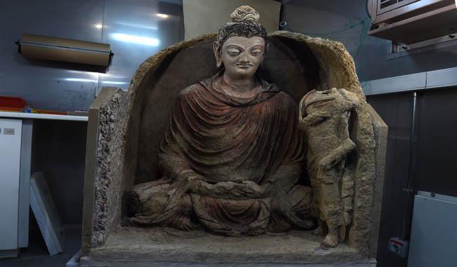 Ancient, near-pristine Buddha to make Kabul museum debut