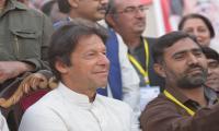 Imran Khan attends final of PTI's cricket tournament