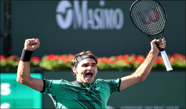 Federer beats Wawrinka for fifth Indian Wells title