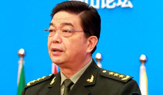Chinese defense minister visits Sri Lanka, meets with president