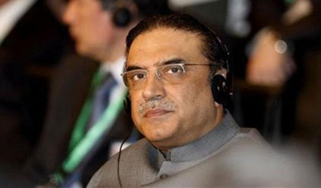I don't agree with Haqqani's philosophy nor want to see him: Zardari
