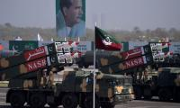 Armed forces show off military might at Pakistan Day Parade