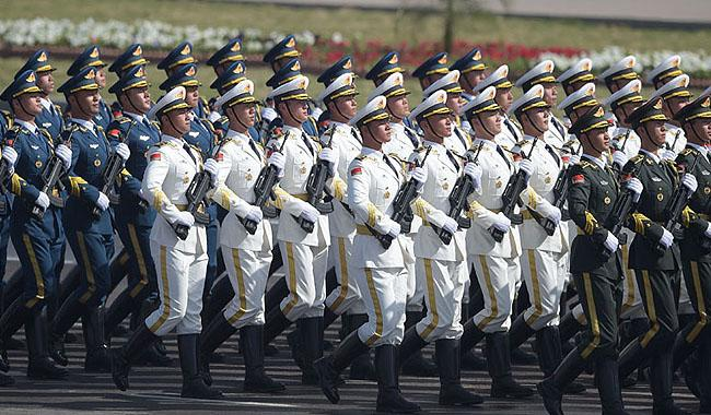 Chinese troops march on Pakistan Day 'underlines deepening military co-operation'