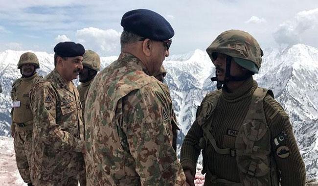 Gen Bajwa says Indian propaganda aimed at spreading unrest in Azad Kashmir