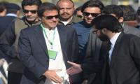 NAB can't move against Zardari, says Imran Khan