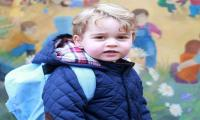 Britain's Prince George ready to start school in September