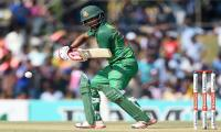 Ton-up Tamim leads Bangladesh to record total