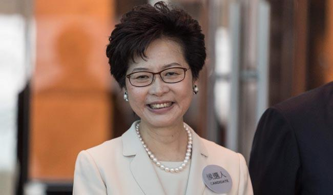 Carrie Lam selected as Hong Kong´s next leader