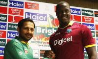 Pakistan win toss, bowl against West Indies