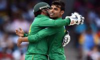 Debutant Shadab restrict Windies to 111-8 in first T20I
