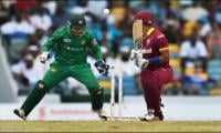 Debutant Shadab helps Pakistan win first T20 against Windies