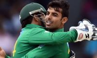 PHOTOS: Pakistan's show of strength in 1st T20 against West Indies