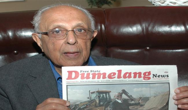 Nelson Mandela's closest colleague Ahmed Kathrada dead at 87