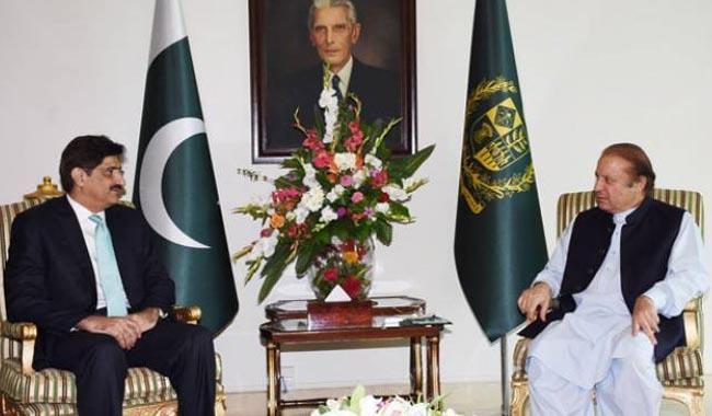 Murad says Nawaz 'diverting' Sindh gas to Punjab