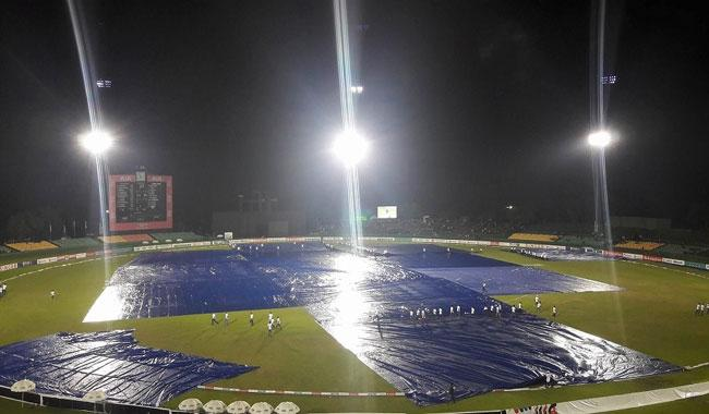 Rain washes out match after Taskin, Mendis feats