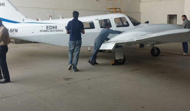 Edhi Foundation to resume air ambulance service