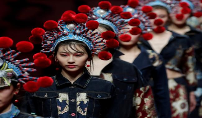 In pictures: China Fashion Week in Beijing