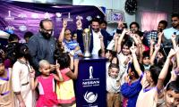 ICC Champions Trophy at Edhi Home brings smiles to orphan kids
