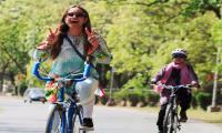 Pakistani female biker: 'I loved feeling of freedom with breeze in my hair'