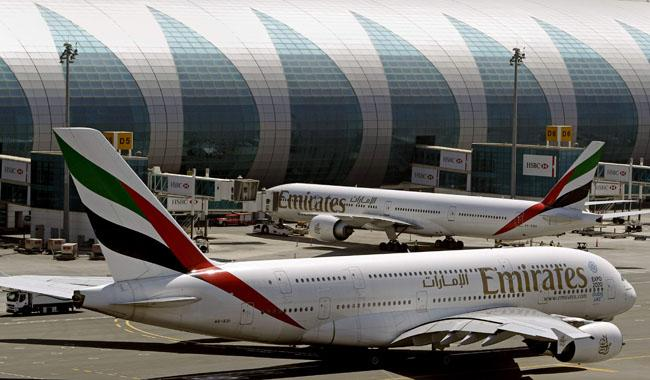 Emirates is offering loaner Microsoft Surface tablets to some US-bound flyers