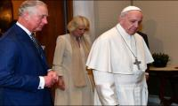 Be a man of peace, pope urges Prince Charles