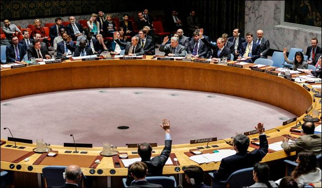 Russia vetoes UN draft resolution on Syria gas attack probe